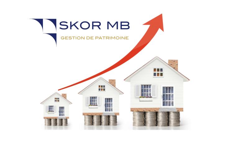 Evolution du patrimoine immobilier